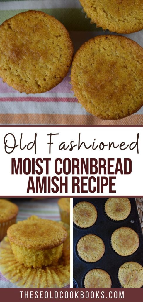 How to Make Moist Cornbread from Scratch? Follow this easy recipe for Old Fashioned Cornbread Muffins. My family won't let me make any other cornbread recipe after discovering this sweet corn muffin recipe.
