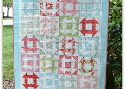 Sweet Churn Dash Quilt