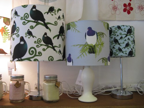 A selection of my lamp shades at Made It.
