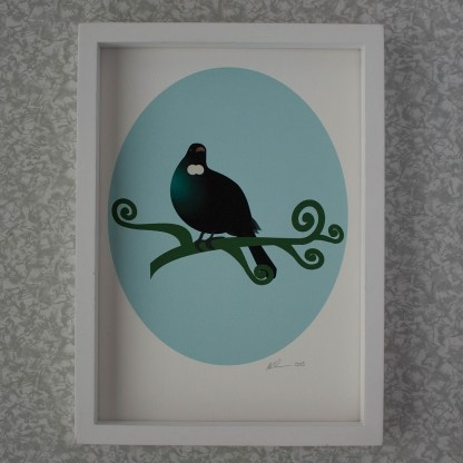 Framed tui illustration