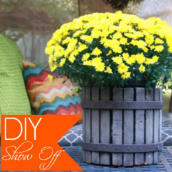 Vintage Fall Home Tour at DIYShowOff