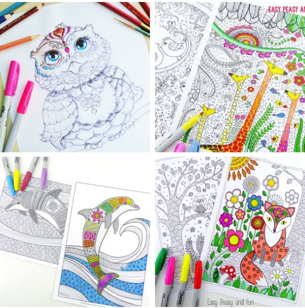 free detailed coloring pages # 16