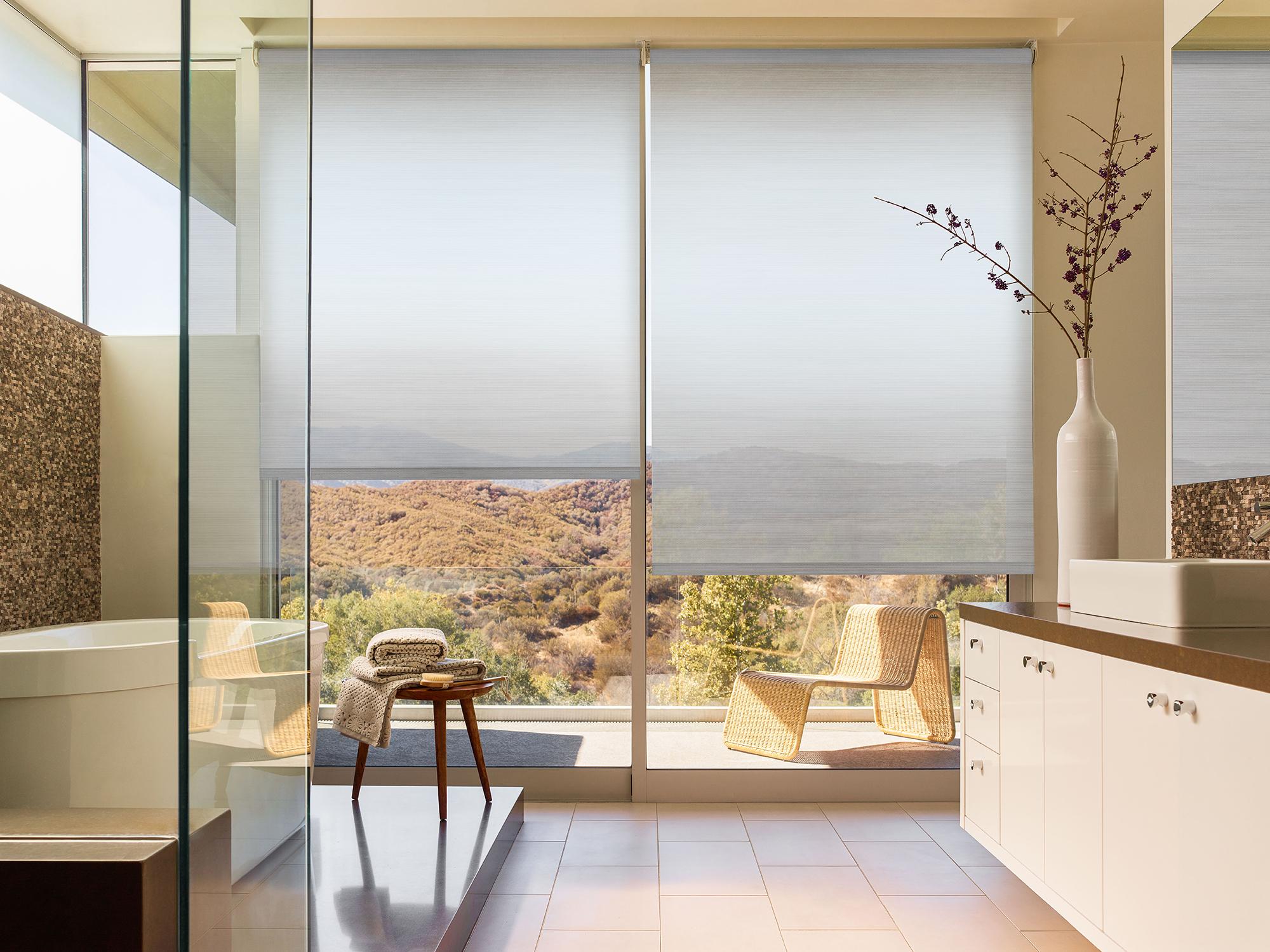 Bathroom Window Treatment Ideas The Shade Store