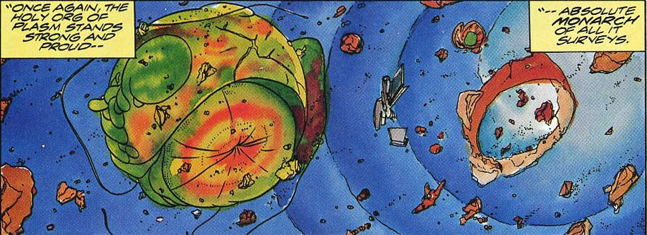 Defiant Comics: The Org of Plasm