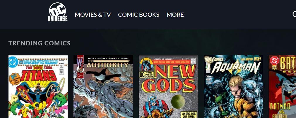 DC Universe Subscription