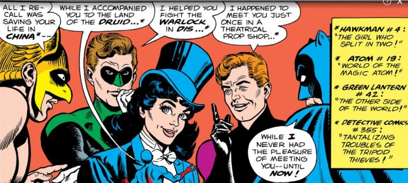 Zatanna's Search leads to the Justice League