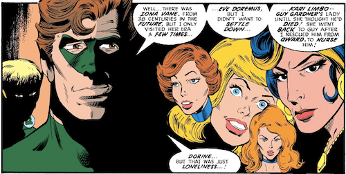 Hal Jordan's girlfriends