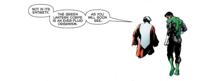 Green Lanterns #57 | Words: Dan Jurgens | Art: Mike Perkins