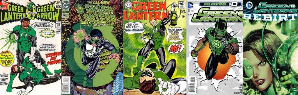 Earth's Green Lanterns