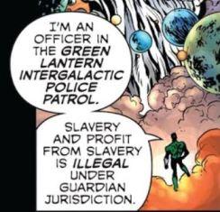 Green Lantern Intergalactic Police Patrol