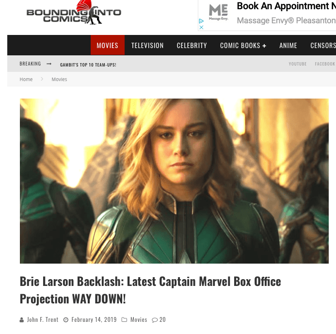 Bounding Into Comics on Captain Marvel