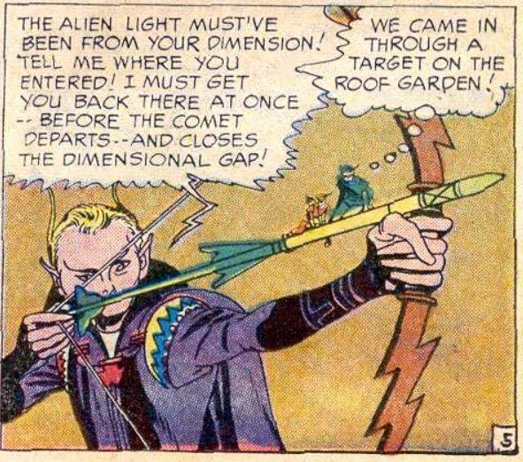 Xeen Lantern first appearance