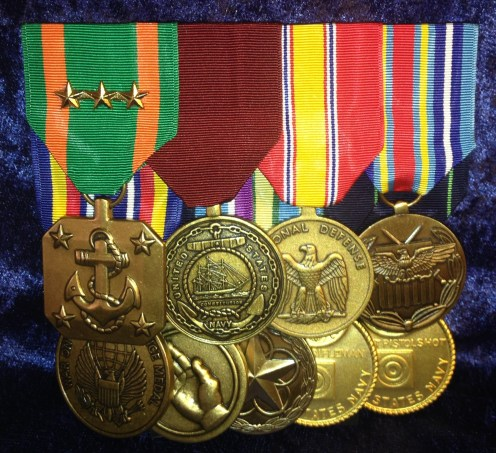 flat-mounted-large-medals-front-view