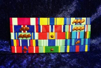 Flat Mounted Ribbon Set
