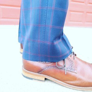 half-break custom pants