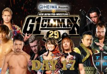 Report G1 Climax 29 10-08-2019 | Day 17