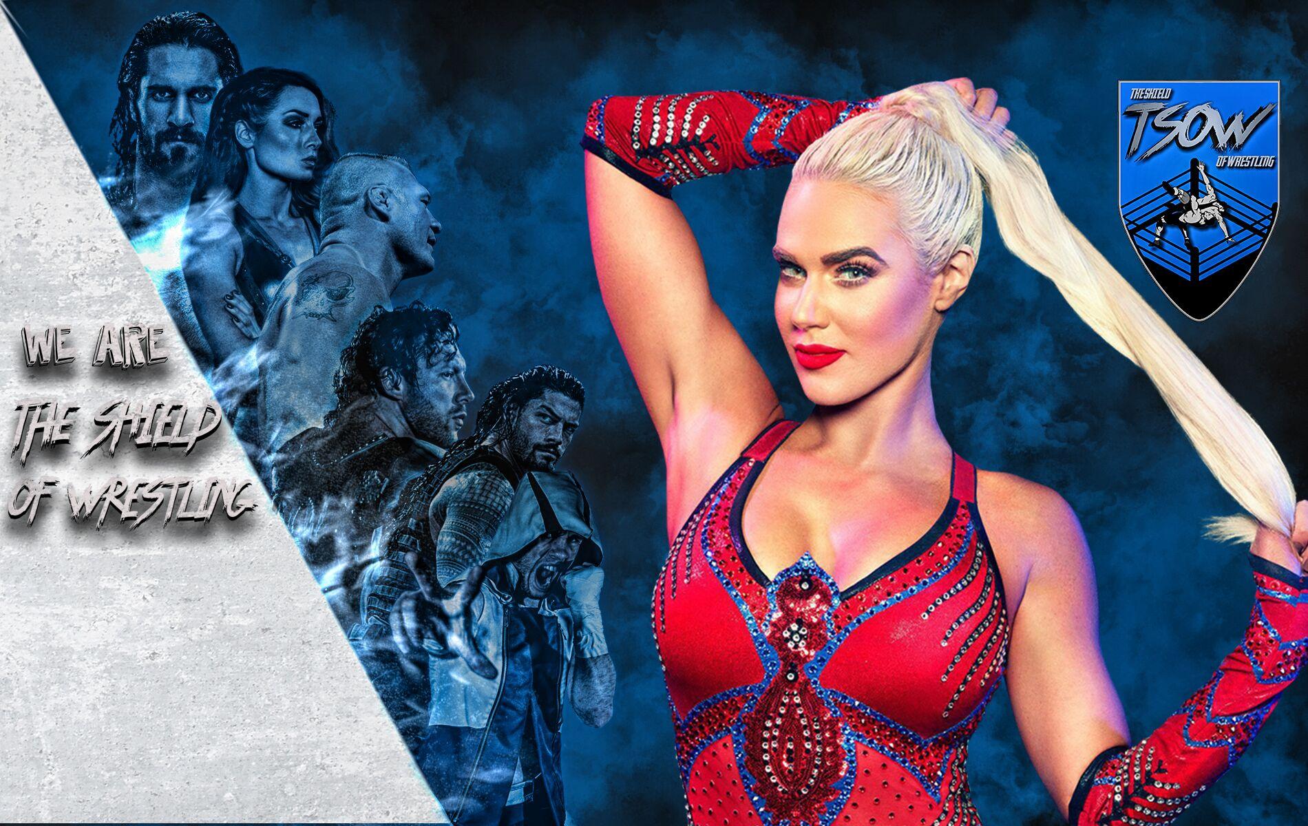 Annuncio di Lana - WWE RAW