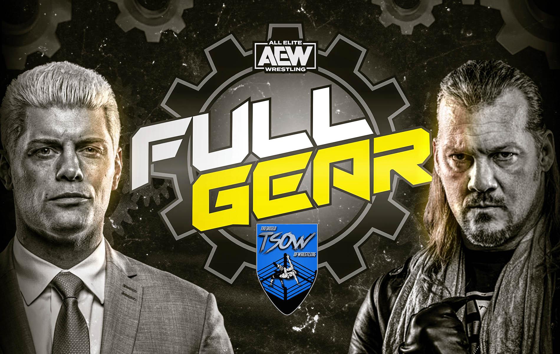 AEW Full Gear 2019 Risultati