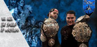 Chris Steel e Flavio Augusto - New European Championship Wrestling