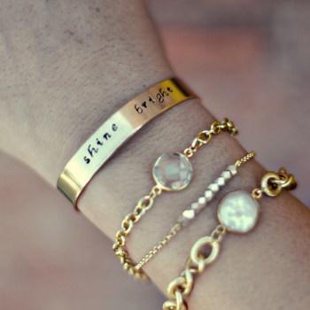 shine bright bracelet