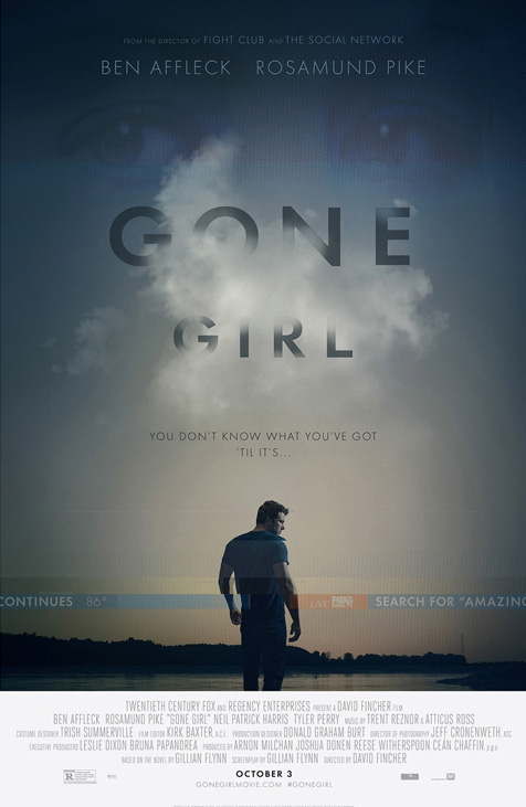 Image result for gone girl poster