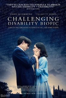 The Shiznit's honest poster for Oscar nominee The Theory of Everything