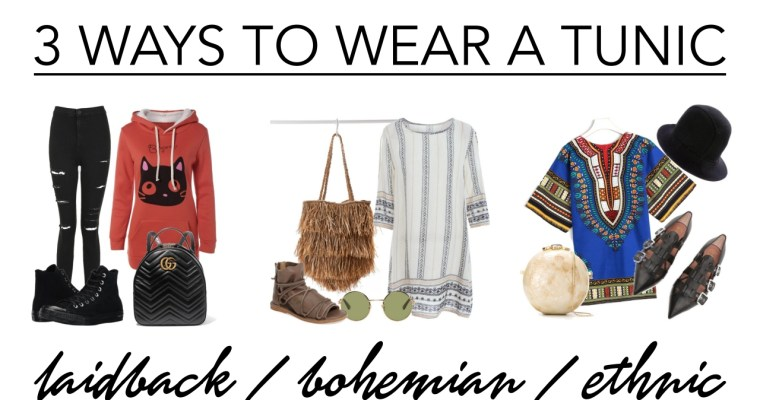 3 ways to wear a tunic • style ideas
