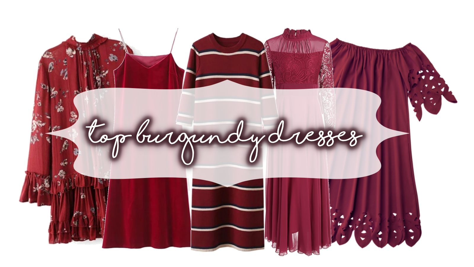 top-burgundy-dresses