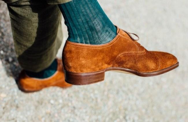 Stefano Bemer bespoke shoes for Simon