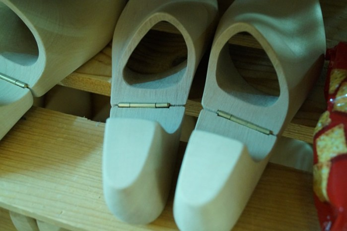 Saint Crispsins lasted shoe trees