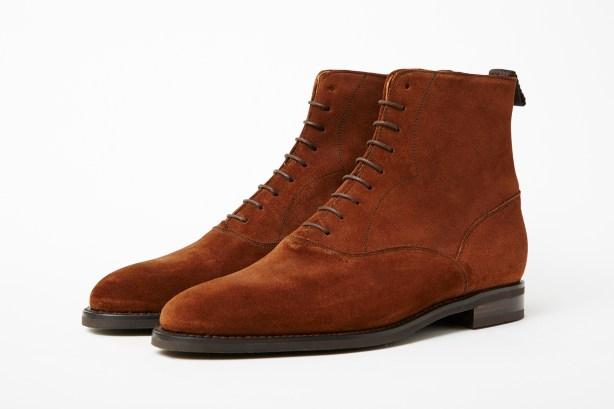 J.FitzPatrick Wedgwood Balmoral boot black calf