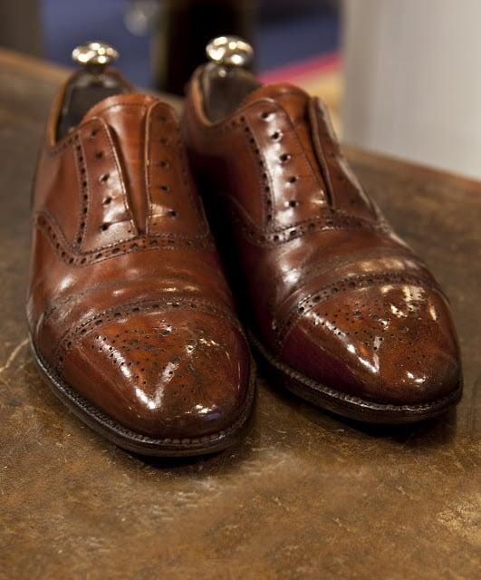 Restoring Old Shoes - The Shoe Snob