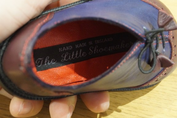 The Little Shoemaker wingtip brogues 3