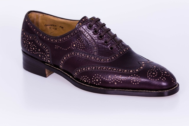 George Cleverley Antique brogue1