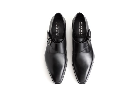 JM Weston single monk strap 1