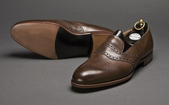 trinity-oak-Wildsmith saddle loafer