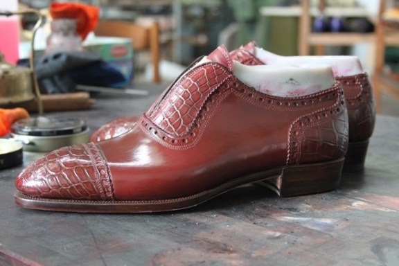 Bestetti alligator adelaide oxford red