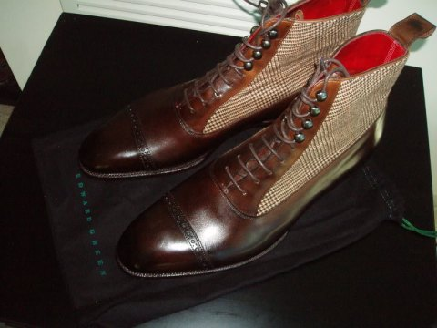 Edward Green balmoral boot