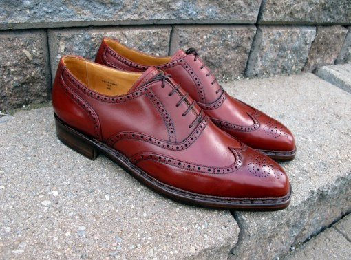 Red Brogues by VASS