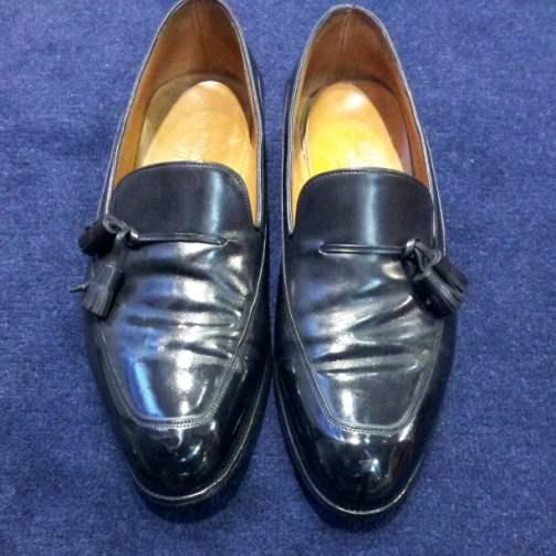 John Lobb tassel loafers