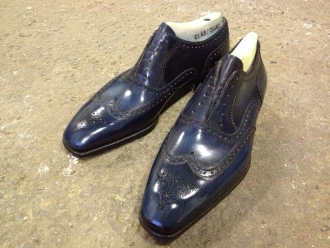 bestetti blue oxford brogue