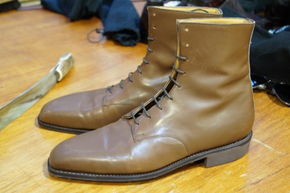 Bespoke boots by G&G
