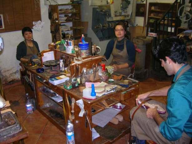 Shoemakers at Stefano Bemer