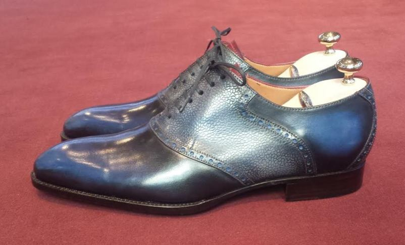 Septieme Largeur Saddle Shoe Patina