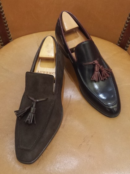 Aubercy shoes tassel loafers