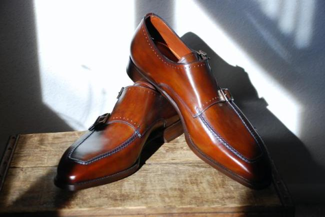 Santoni Goodyear Welted line