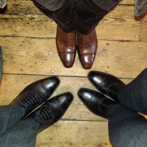 Small circle of J.FitzPatrick shoes