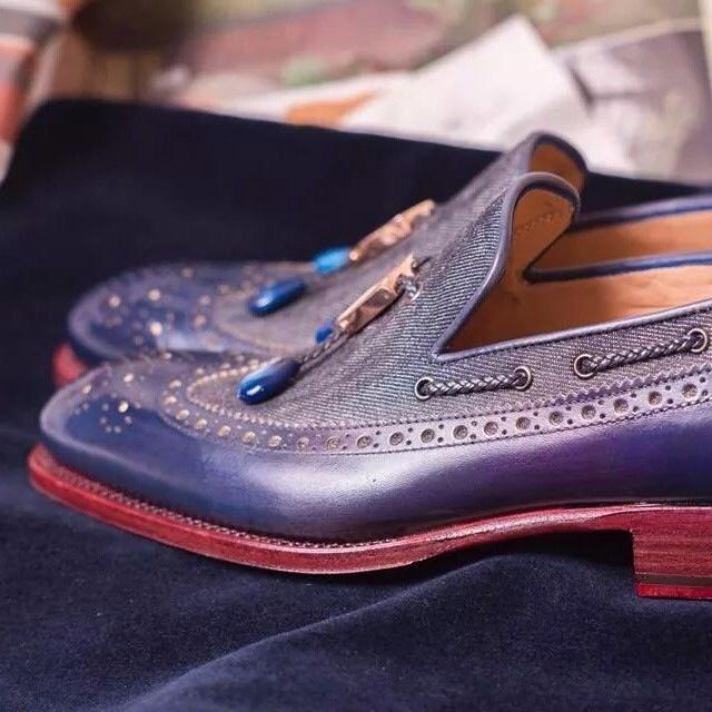 Ivan Crivellaro shoes patina