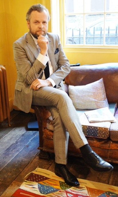 Timothy Everest in his J.FitzPatrick Windermere shoes!
