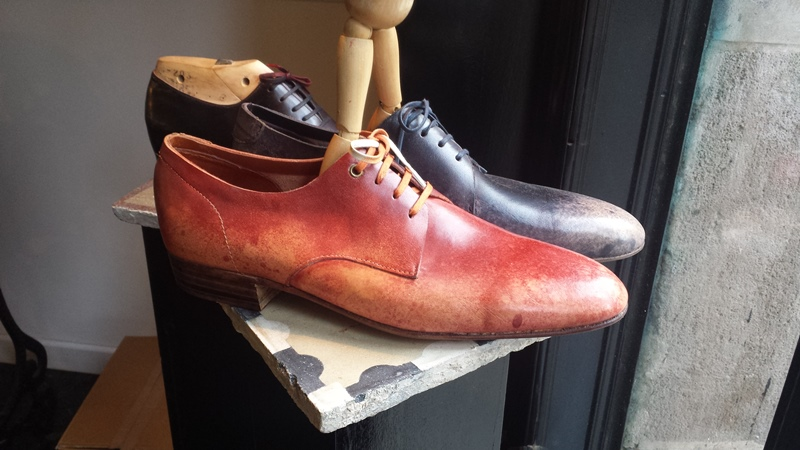 Norman's passion, the art behind shoemaking
